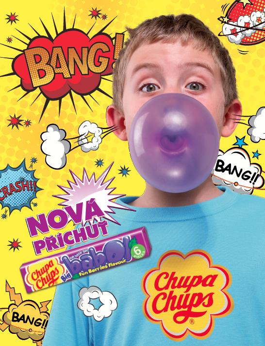 Chupa Chups inzerce