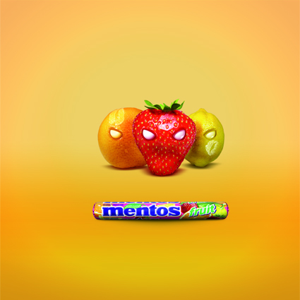 Mentos Fruit & Mint