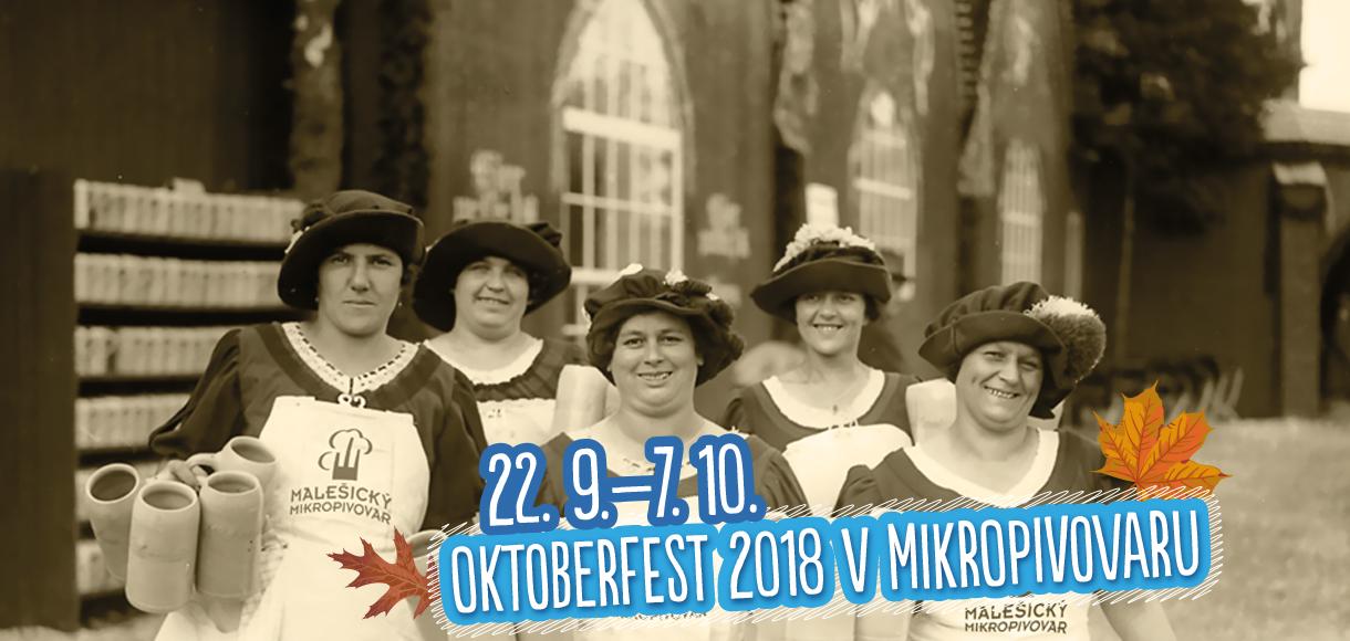 Oktoberfest v Malešickém mikropivovaru