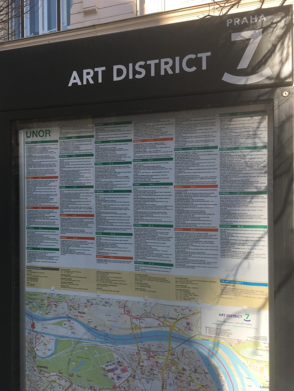 Kulturní program pro ART District Prahy 7